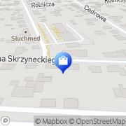 Mapa Apteka 21 Warszawa, Polska