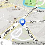 Mapa Apteka Staszów, Polska