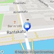 Kartta Vakka-Suomen Kuntoputki Oy Uusikaupunki, Suomi