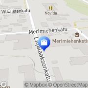 Kartta Uudenkaupungin TK-Sähkö Oy Uusikaupunki, Suomi