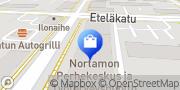 Kartta Kukkakauppa Valla Fiini Rauma, Suomi