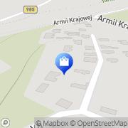 Mapa Apteka Skopanie, Polska
