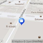 Kartta Ecco-Shop Pori Pori, Suomi