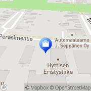 Kartta Sähköasennus Helle &  Helle Oy Pori, Suomi