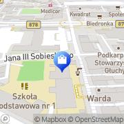 Mapa Yves Rocher Rzeszów, Polska