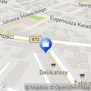 Mapa PZF Cefarm Kielce S.A. Nisko, Polska