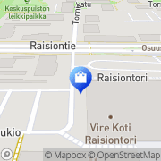 Kartta Sportcare Ky Raisio, Suomi
