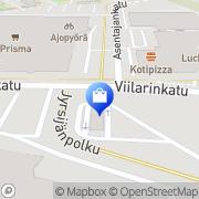 Kartta Veljekset Halonen Turku, Suomi