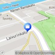 Kartta Sale Laivurinkatu Turku, Suomi