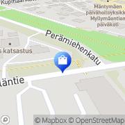 Kartta Sähkö Lehmus Turku, Suomi