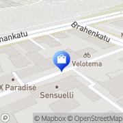 Kartta Turun Antiikki- ja Taide Turku, Suomi