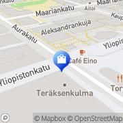 Kartta Life Turku Hansa Turku, Suomi
