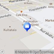 Kartta Seppälä Myymälä Turku, Suomi