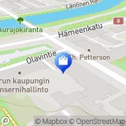Kartta Kukkakauppa Kaskenmäen Kukka Turku, Suomi