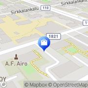 Kartta Turun Pyörä Turku, Suomi