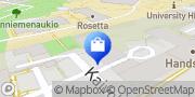 Kartta Pukuvuokraamo Academia Turku, Suomi