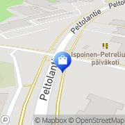 Kartta Sale Petrelius Turku, Suomi
