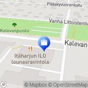 Kartta MK-KassaMasiina Oy/Uniwell Turku, Suomi