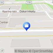 Kartta Instrumentarium Kaarina, Suomi