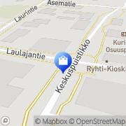 Kartta Musta Pörssi Kurikka, Suomi