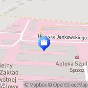 Mapa Apteka Przeworsk, Polska