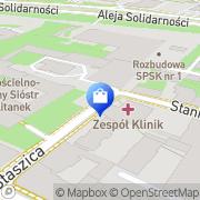 Mapa Kabała Robert. Bielizna Lublin, Polska