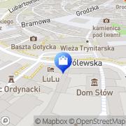 Mapa Silver Art Lublin, Polska