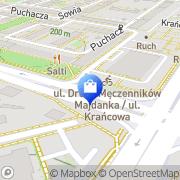 Mapa Apteka w Stokrotce SC Lublin, Polska