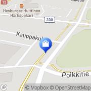 Kartta Huittisten Muovikeskus Ky Huittinen, Suomi