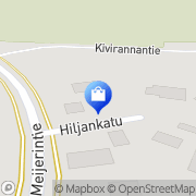 Kartta K-supermarket Herkkusuu Tampere, Suomi