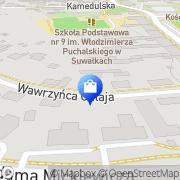 Mapa Apteka im. św. Kosmy i Damiana Suwałki, Polska