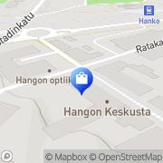 Kartta Hangon Optiikka Hanko, Suomi