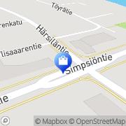 Kartta Lapuan Liiveri Oy Lapua, Suomi