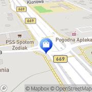 Mapa Carrefour Polska Sp. z o.o. Białystok, Polska