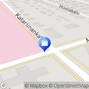Kartta Keski-Pohjanmaan keskussairaalan sairaala-apteekki Kokkola, Suomi
