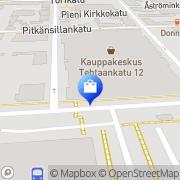 Kartta KappAhl Kokkola Kokkola, Suomi