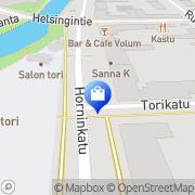 Kartta Pyörähuolto Mustonen Ky Salo, Suomi