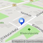 Kartta Ruokaportti Salo, Suomi
