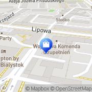 Mapa GaleriaPlakatu.pl Białystok, Polska