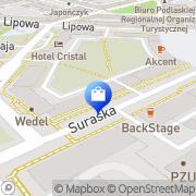 Mapa DESA Białystok, Polska