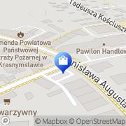 Mapa Suchodolska T.W. Art. elektryczne Krasnystaw, Polska