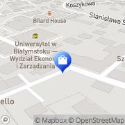 Mapa Silver-Hit s.c. Białystok, Polska