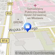 Mapa Apteka s.c. Włodawa, Polska