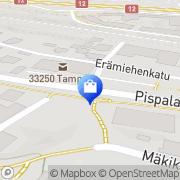 Kartta Sale Pispala Tampere, Suomi