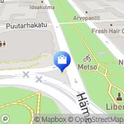 Kartta Antiikkiliike Tampereen Antiikki ja Keräily Tampere, Suomi