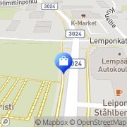 Kartta Seppälä myymälä Lempäälä, Suomi