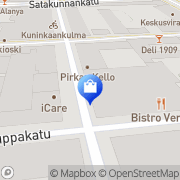 Kartta Z.I.P Street Wear Tampere, Suomi