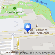 Kartta Selected Tampere Tampere, Suomi