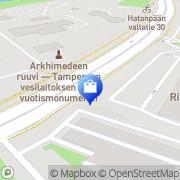 Kartta Intercon Tampere, Suomi