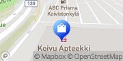 Kartta Tampereen Koivu Apteekki Tampere, Suomi